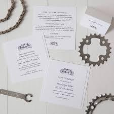 order wedding invitations tandem bicycle wedding invitation by twenty seven