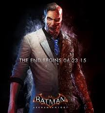 oracle strikes pose batman arkham knight poster e3 trailer the