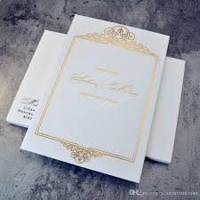 expensive wedding invitations expensive high end wedding invitation thick paper carboard