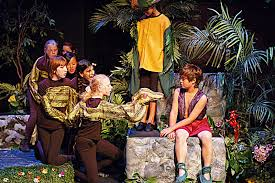theater production of jungle book the middle school of