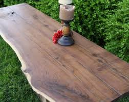 wood slab tables for sale wood slab table etsy