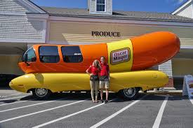 wienermobile rolls into shaws south yarmouth