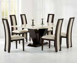 modern table set coaster modern dining 7 piece white table
