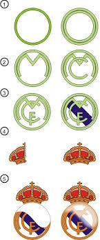 tutorial membuat logo coreldraw x5 draw real madrid cf logo with corel draw tutorial corel draw