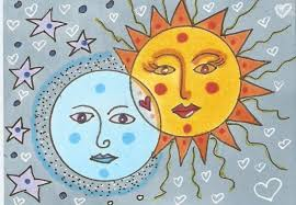 the sun and the moon and me the artistic fox