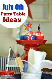 party themes july adult and kid july 4th tablescape ideas catch my party