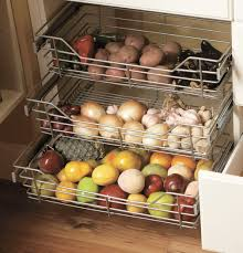 wire pull out baskets kitchen storage solutions pinterest wire pullout baskets to store kitchen staples in the pantry a good idea i need to get some baskets to put things in the pantry