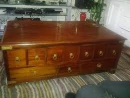 Pottery Barn Lincoln Park Pottery Barn Apothecary Wood Coffee Table With Drawers I Have This