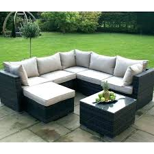 Rattan Curved Sofa Curved Outdoor Sofas Comfortable Outdoor Furniture Curved Patio