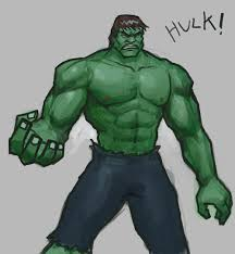 how to draw hulk drawing and digital painting tutorials online