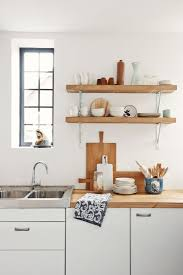 Open Shelving In Kitchen Ideas by 128 Best Beach House Kitchen Images On Pinterest Kitchen