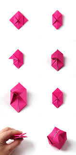 How To Make A Box With Paper - diy origami box lights gathering
