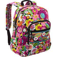 bloom backpack vera bradley cus backpack va va bloom vera bradley school