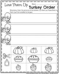 november preschool worksheets planning playtime