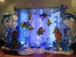 the sea decorations party balloon decor themed party ideas with balloon