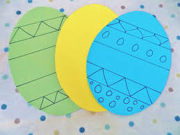 Easter Decorations From Paper by Easter Crafts Decorating Card Easter Eggs Newyoungmum