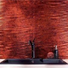 Copper Tiles For Kitchen Backsplash Copper Tile Backsplash Copper Tile Photo Kitchen Copper Tile For