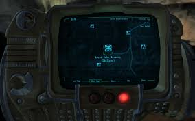 Fallout New Vegas Maps by Great Khan Armoury Map Marker At Fallout New Vegas Mods And