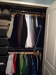 bedroom closet clean up part 2 organizing made fun bedroom