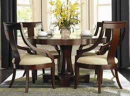 Plain Modern Round Dining Room Sets Tables Starrkingschool In - Modern round dining room table