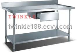 stainless steel work table with shelves stainless steel work bench with splashback and under shelf
