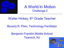 Challenge In Motion A World In Motion Challenge 2 Ppt