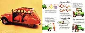 1975 citroen 2cv brochure