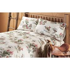 Camp Bedding Cow Camp Sheet Set 128085 Sheets At Sportsman U0027s Guide