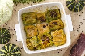 giallo zafferano cucina vegetariana ricetta involtini di cavolo alla zucca la ricetta di giallozafferano