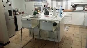 cuisine et ilot central image pour cuisine moderne agrandir une cuisine de chef racsolument