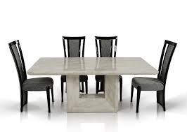 marble dining room set modern marble dining table