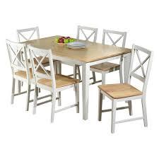 beachcrest home lafayette 7 piece dining set u0026 reviews wayfair