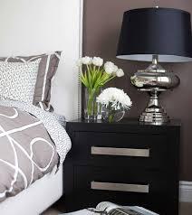 bedroom nightstand round night stands bedroom modern bedside