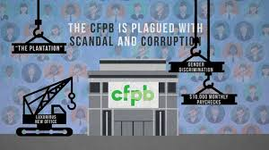 consumer financial protection bureau spends 58 000 attacking consumer financial