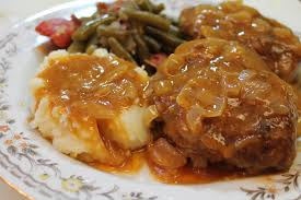 best homemade salisbury steak recipe i heart recipes