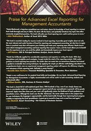 amazon com advanced excel reporting for management accountants