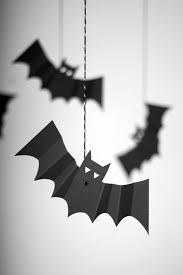 meri meri hanging bats halloween crafts pinterest