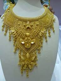 beautiful necklace gold images Beautiful latest gold necklace design 2014 fashion trend club jpg