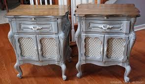 side table paint ideas annie sloane furniture annie sloan chalk paint painted side tables