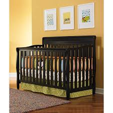 Graco Stanton 4 In 1 Convertible Crib Graco Stanton 4 In 1 Convertible Fixed Side Crib Black 149 99