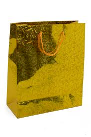 gold gift bags small gold foil hologram christmas gift bag gold small gift bags