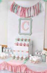 Centerpieces For Bridal Shower by Pink And Mint Bridal Shower My Sister U0027s Bridal Shower Love Of