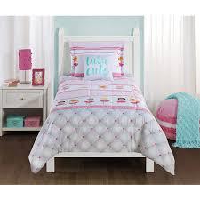 mainstays kids ballerina bedding comforter set walmart com