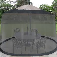 Offset Umbrella With Screen by Mesh Patio Umbrella 7 5 Foot Umbrella Table Screen Just Reg Offset