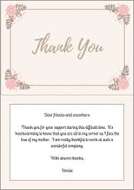 thank you cards for funeral 33 best funeral thank you cards lives on