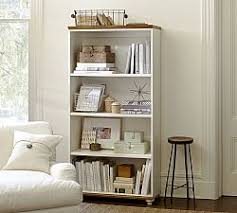 Canoe Shaped Bookshelf Bookshelves U0026 Cabinet Furniture Pottery Barn
