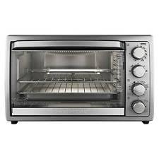 Cuisinart Tob 195 Exact Heat Toaster Oven Broiler Stainless Rotisserie Included Toaster Ovens Ebay