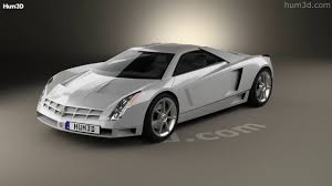 cadillac supercar cadillac cien concept 2002 3d model by hum3d com youtube