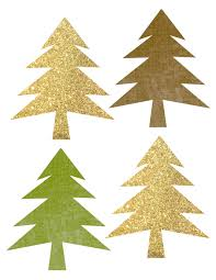 woodland tree garland free printable banner paper trail design