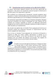 chambre de commerce franco espagnole le marché aéronautique en espagne 2014